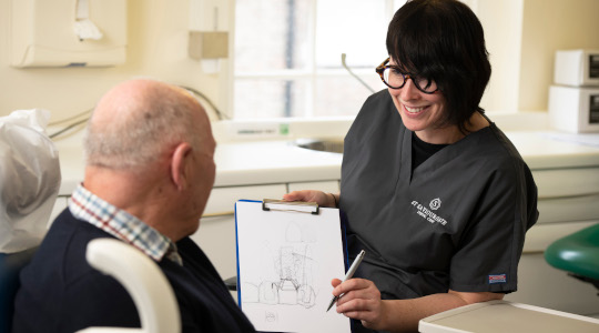 Platinum Practices offer personalised care and tailored dental treatment plans.