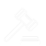 Law gavel icon