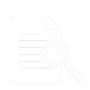 Document with magnifying glass icon