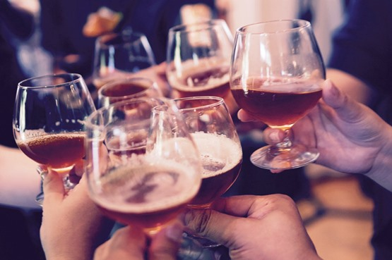 An image of alcoholic drinks