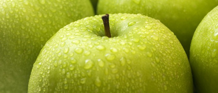 Water rich foods - apples