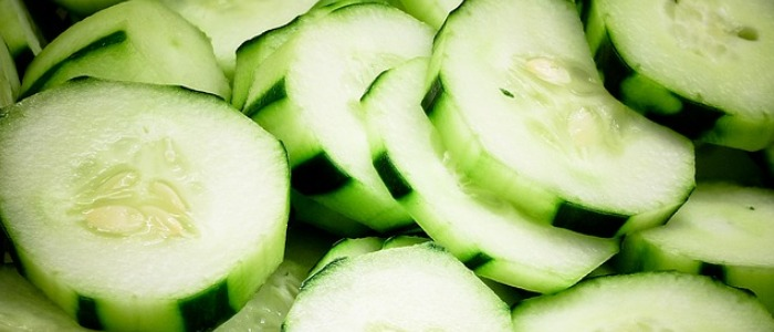 Water rich foods - cucumber