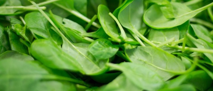 Water rich foods - spinach