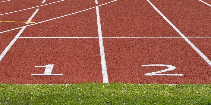 Image of a race track