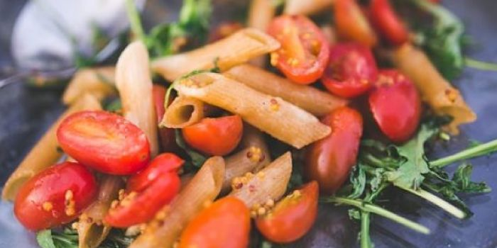 A picture of pasta salad dish