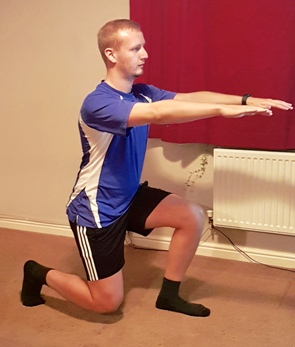 Bupa Lifestyle Adviser exercises at home
