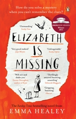Book cover for 'Elizabeth Is Missing'