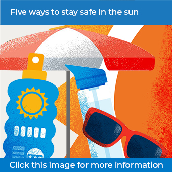 click more image for the sun safety infographic