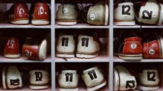 An image showing numbers on shoes