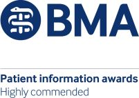 A BMA logo for highly commended information