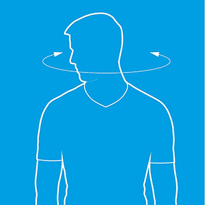 neck rotations diagram