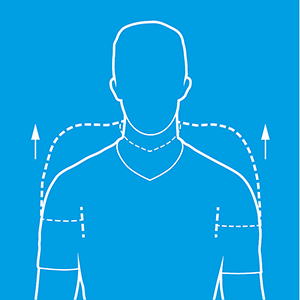 shoulder shrugs diagram