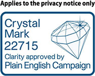 Applies to he privacy notice only crystal mark
