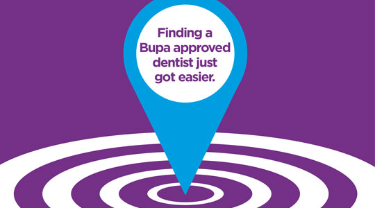 Find a Bupa dentist
